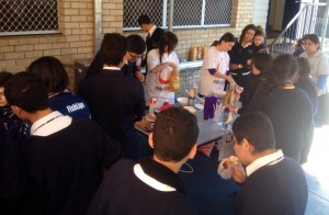 St Mary Coptic Students fundraising